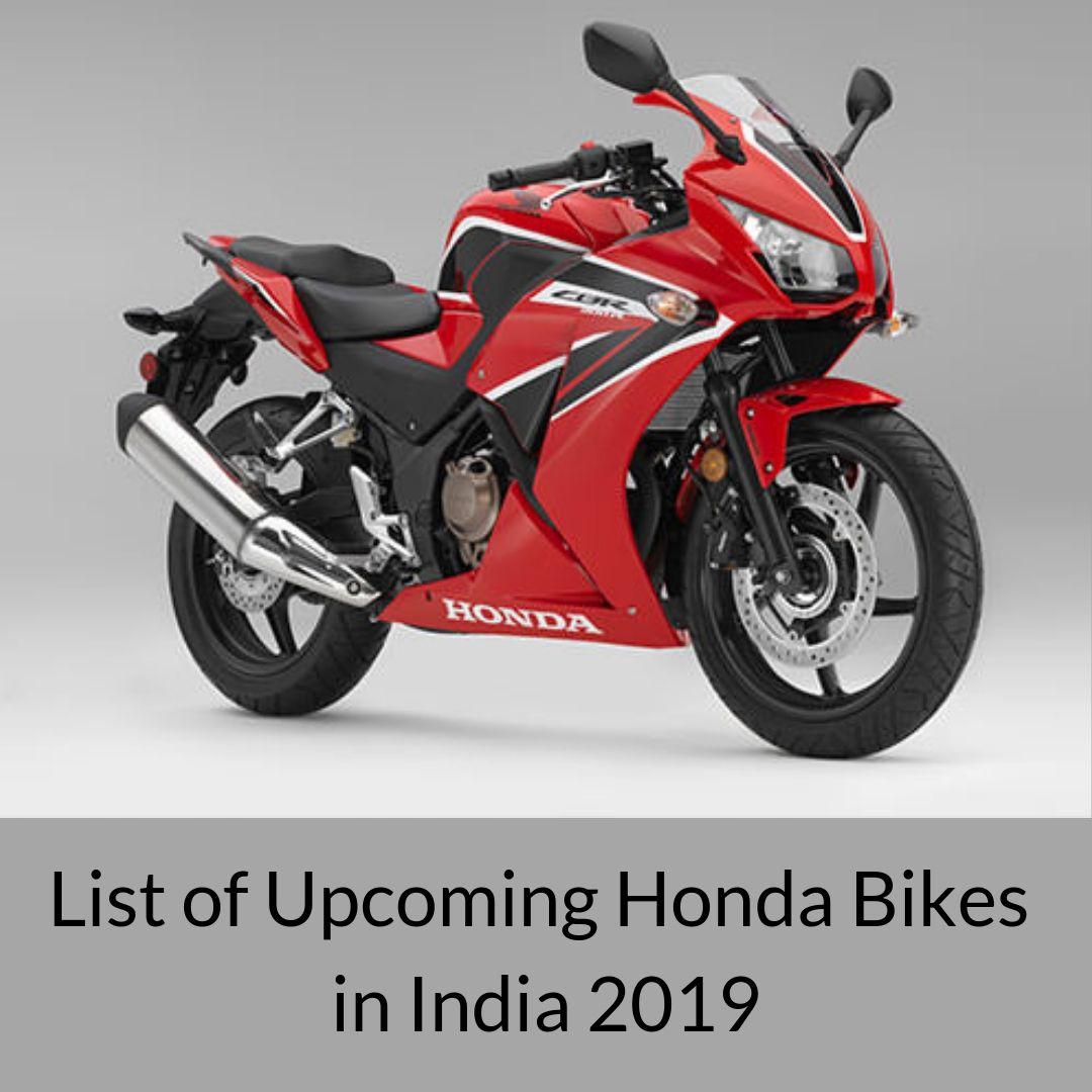 Honda Bikes in India 20192020 Honda bikes
