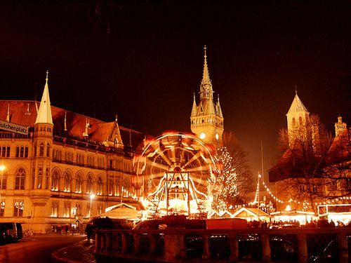 Christmas Market Braunschweig Germany Braunschweig Braunschweig Weihnachtsmarkt Urlaub