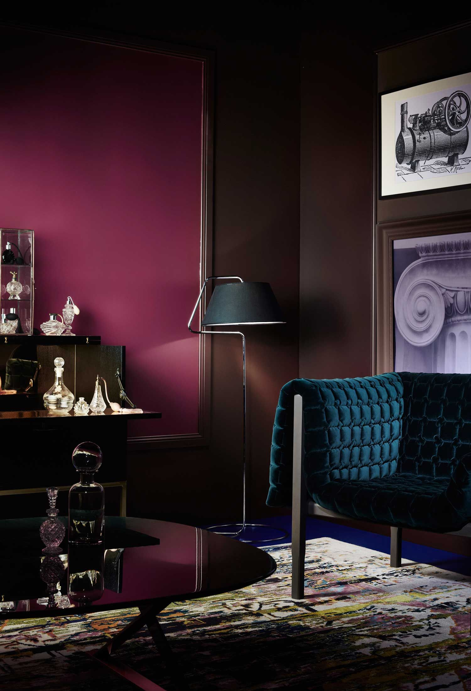 marvelous maroon color bedroom | Exclusive Look at Dulux Colour Forecast 2016 | Room colors ...