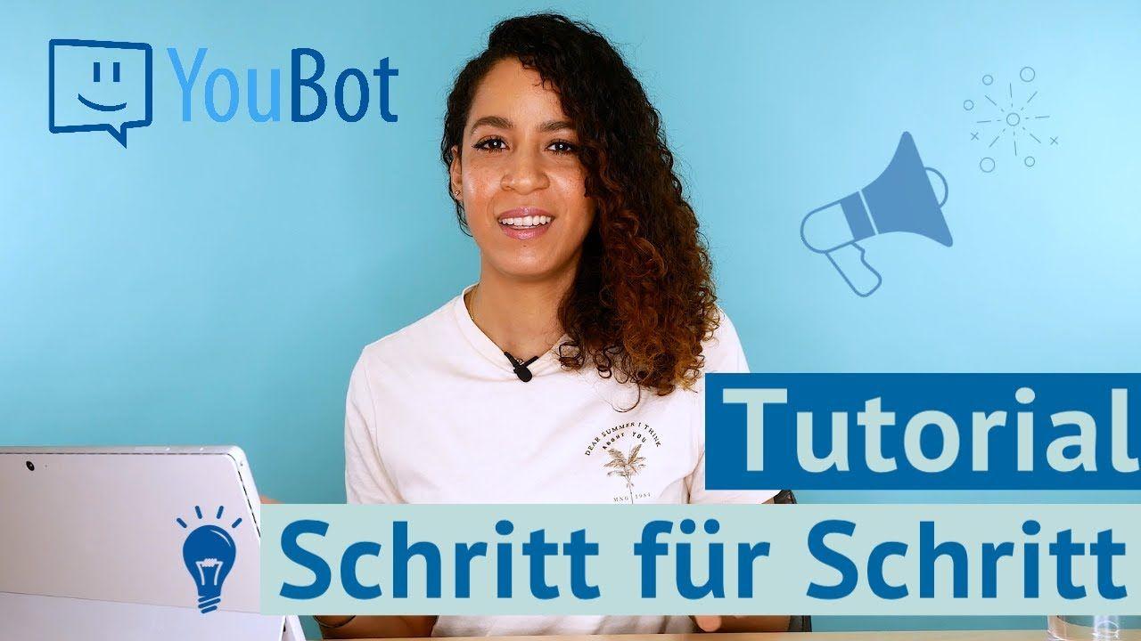 Bewerbung Schreiben Mit Dem Youbot Tutorial 2020 Bewerbung Schreiben Berufsausbildung Online Bewerbung