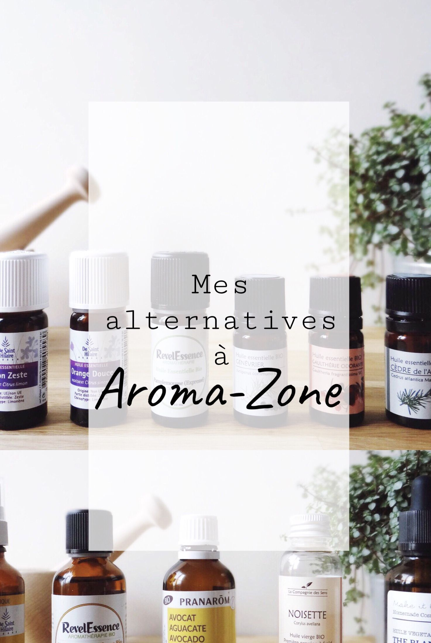 Mes Alternatives A Aroma Zone Recette Cosmetique Maison