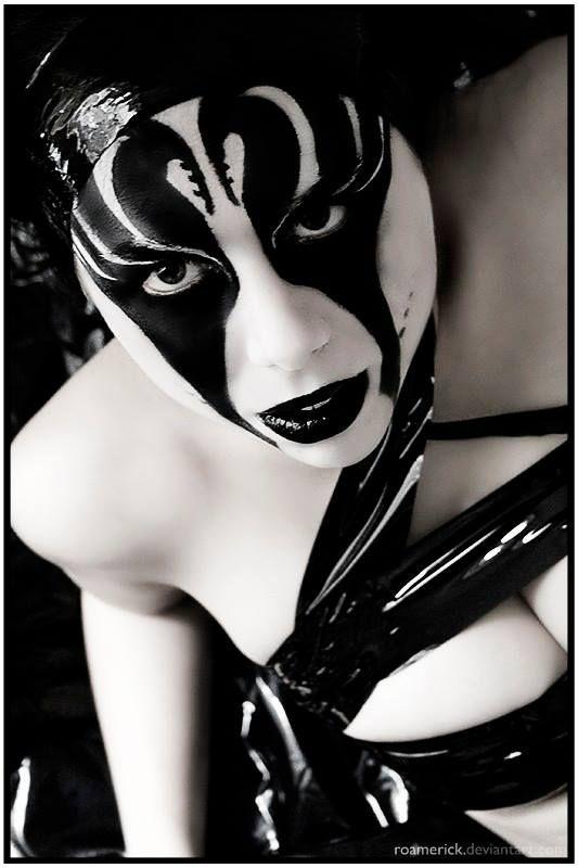 #hot #sexy #goth #clown