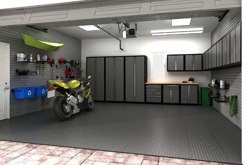 Price Approx 6999 99 20x20 2 Car Garage Outfitted With Fully