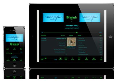 McIntosh AP1 iPad App, McIntosh iPhone App, McIntosh Retro