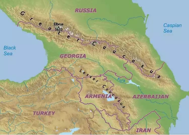 Caucasus map DNA Doesnt Lie Pinterest Caucasus mountains