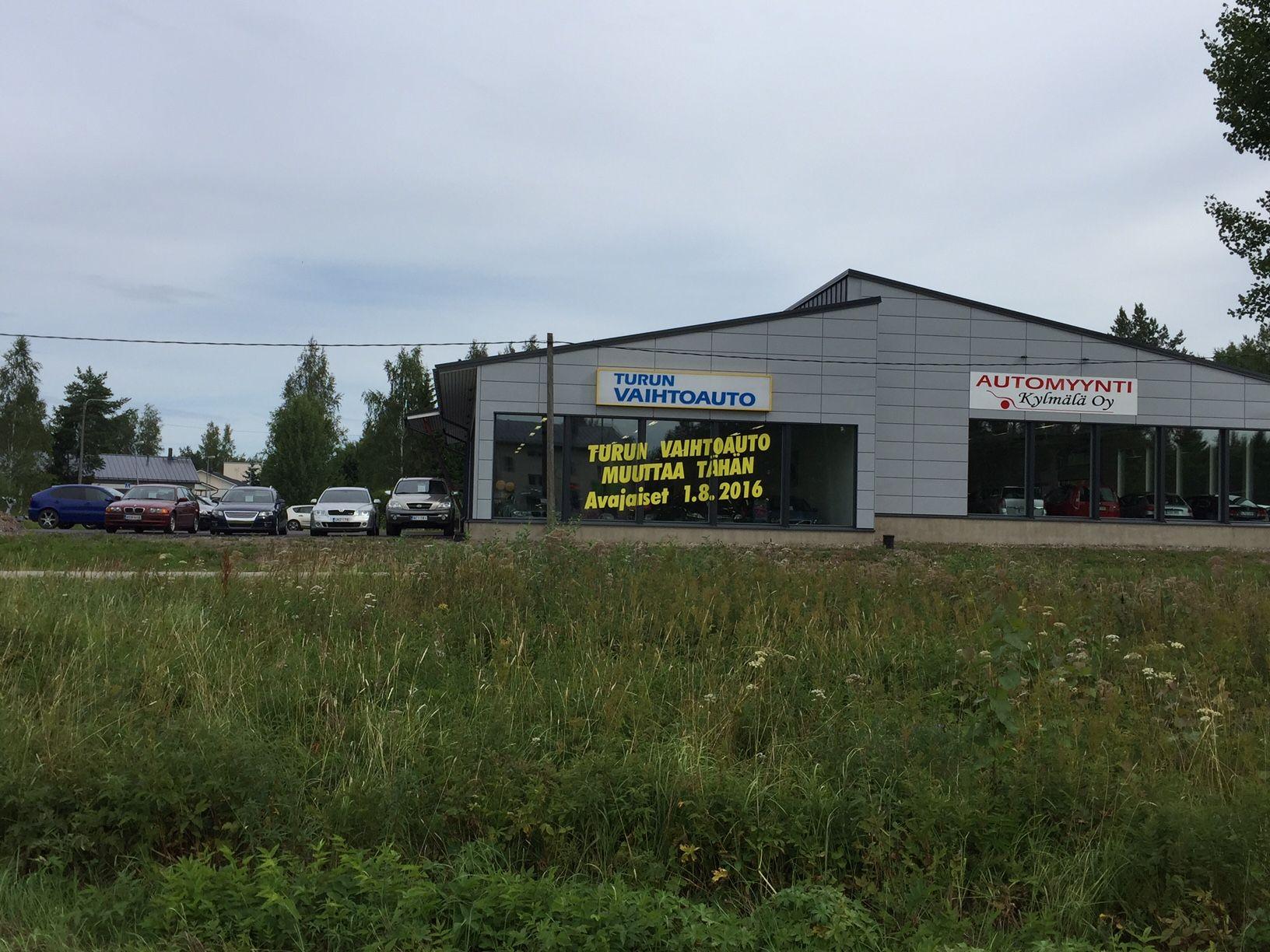 Turun Vaihtoauto Oy uudet tilat  Sorrontie 4  20780 Kaarina
