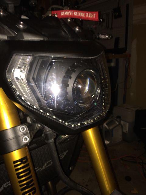 HID Projector Retrofitting, where do I start? | Yamaha FZ-09