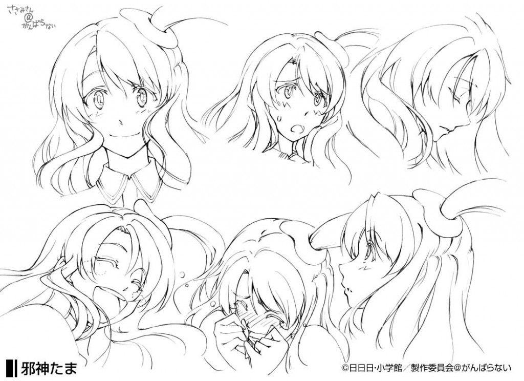 Anime Character Design Tips : Anime character designers