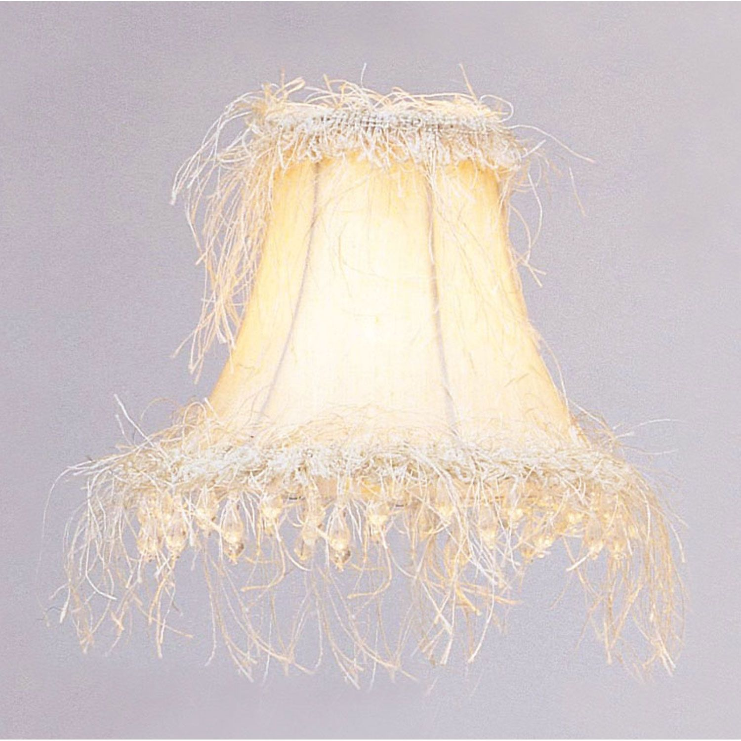 Livex lighting off white silk bell clip chandelier shade w corn livex lighting off white silk bell clip chandelier shade w corn silk fringe beads on sale mozeypictures Choice Image