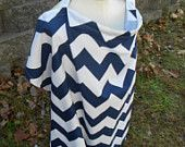 Customizable Chevron Nursing Cover with Pocket - Available in 16 colors