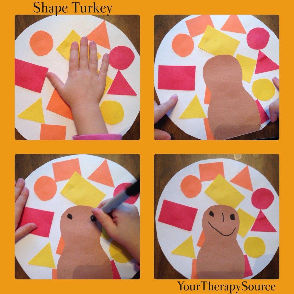 Simple Shape Turkey