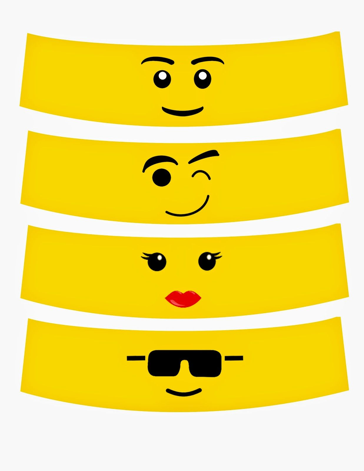 free lego faces - Yahoo Image Search Results | father's day ...