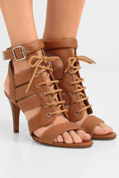 Chloé Rylee cutout sandals discount shop offer buy cheap classic yQ5bMQ3