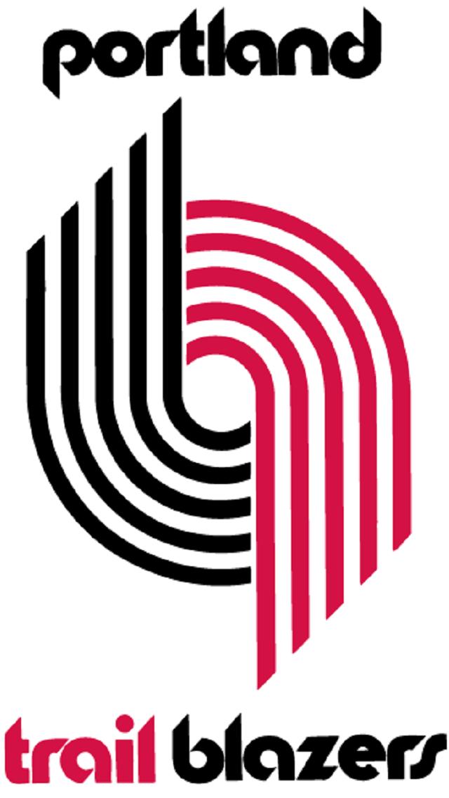 d2ed98506 Portland Trail Blazers 1970 Logo Basketball