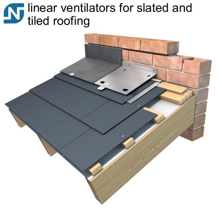 Airtrak Slate Tile Ventilation System Ventilation Roofing