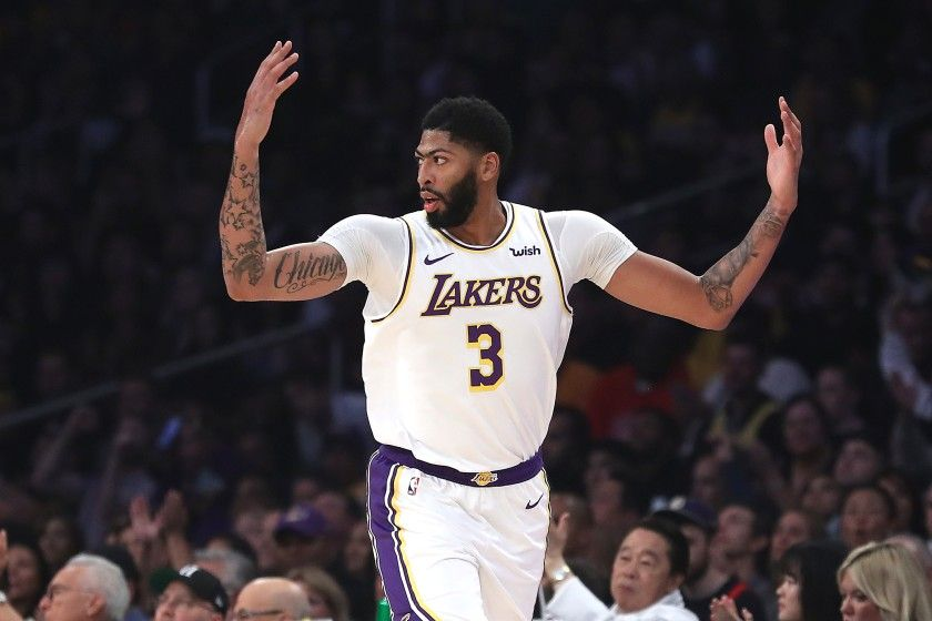 Anthony Davis Los Angeles Lakers Detroitsportsfrenzy Com In 2020 Anthony Davis Anthony Detroit Sports