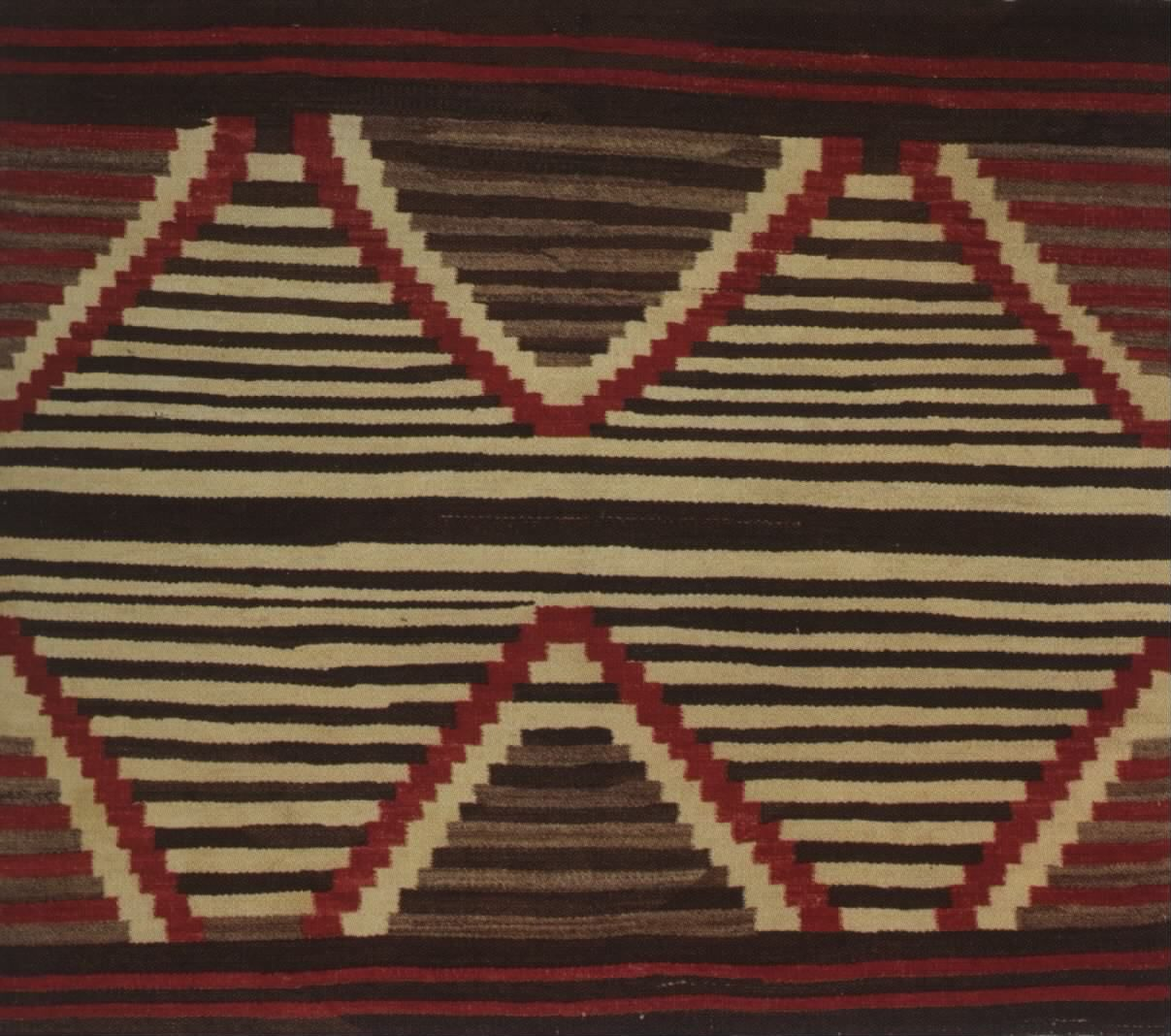 Navajo Rug, 3rd Phase, Chief's Robe