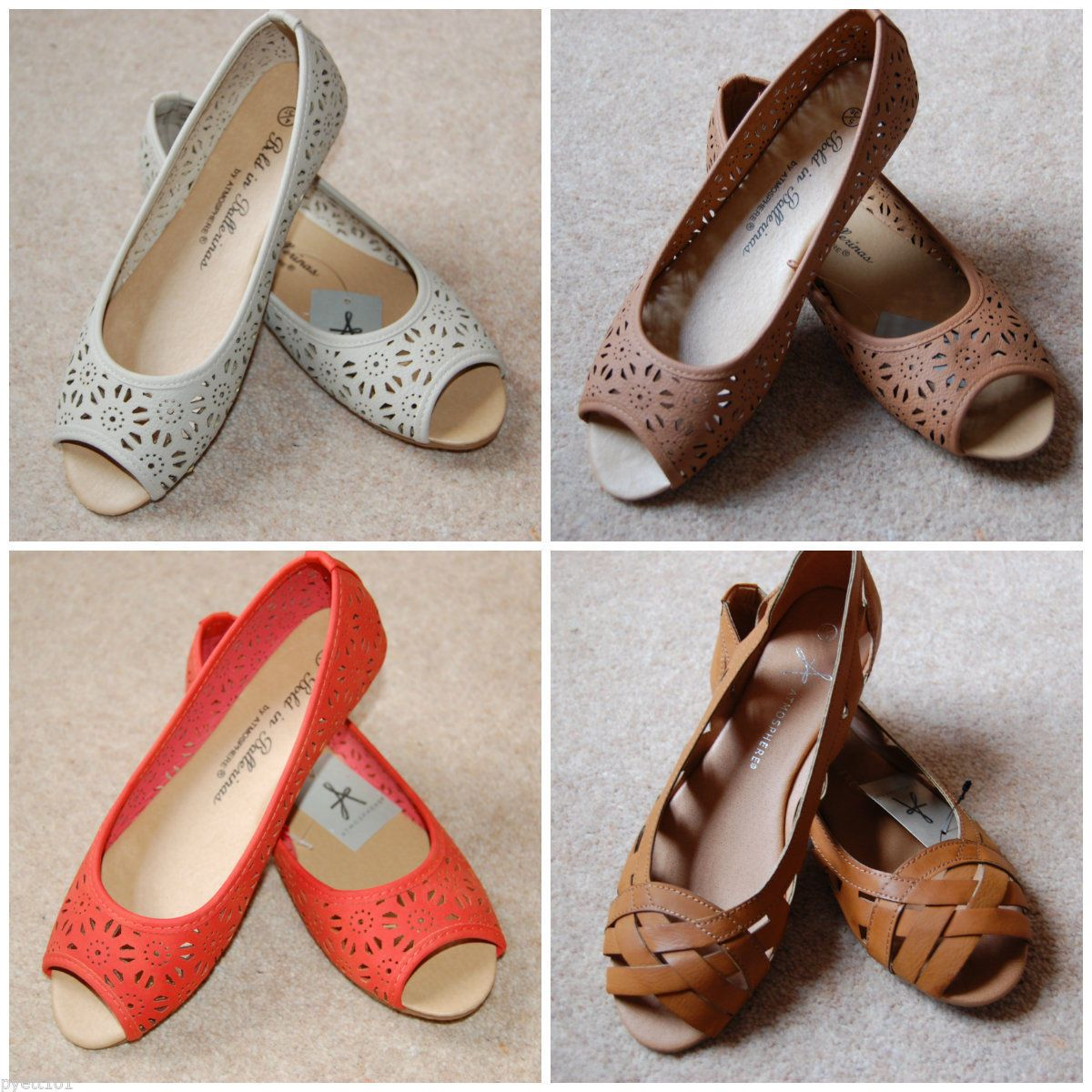 Lovely flat shoes from atmosphere
