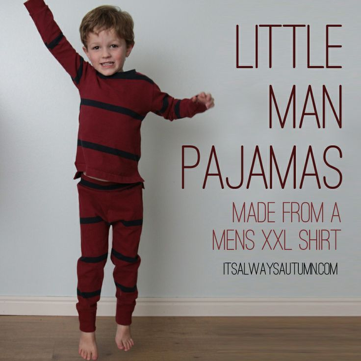 Little Man Pajamas - 25 Clothing DIYs for Babies and Kids