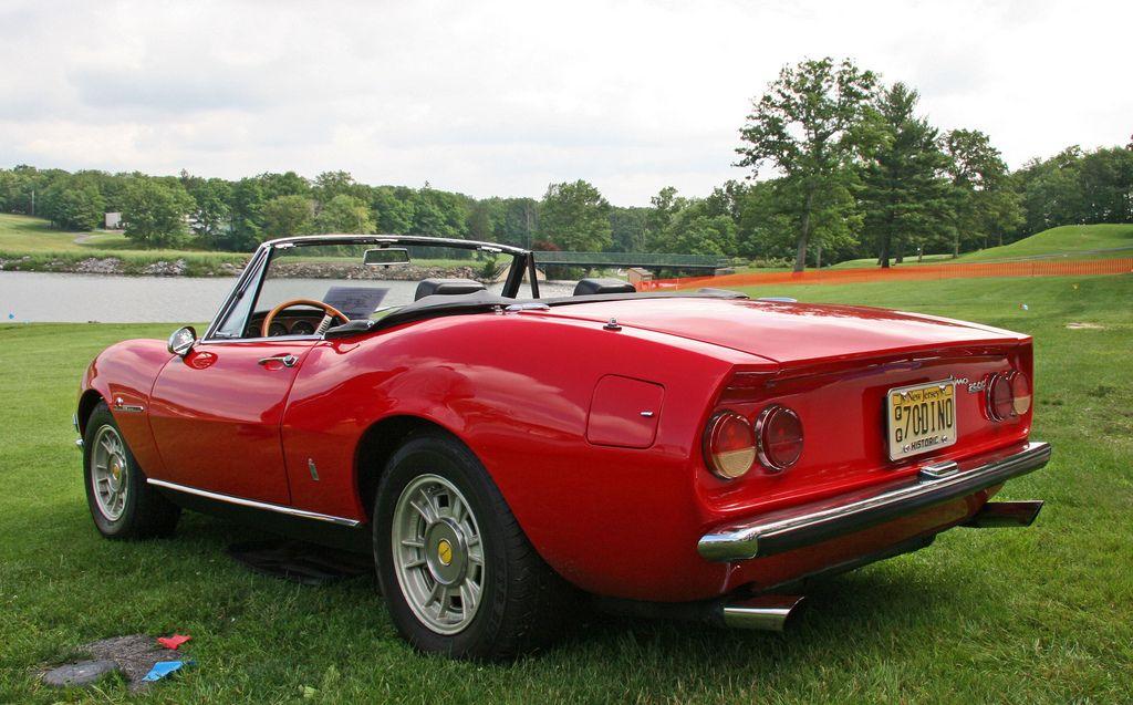 Fiat Dino 2400 Spider 3