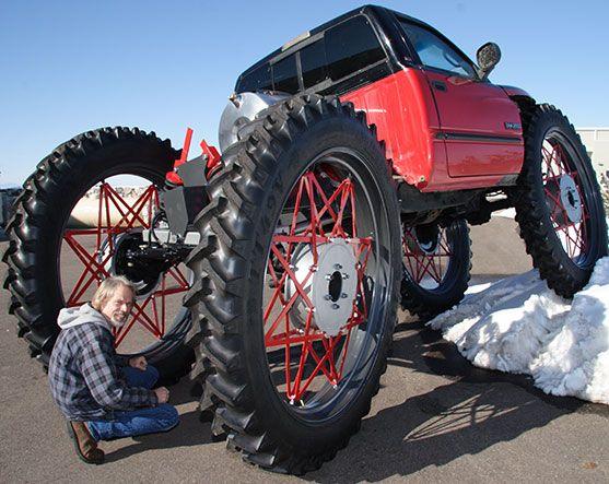 Monster Truck Girls Modified Dodge Cummins Diesel Truck