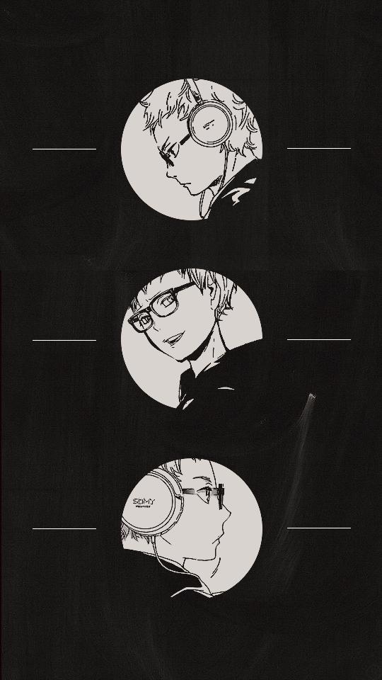 naruzumake:   Tsukishima Keiwallpapers [ 540x960... -                    HAIKYUU!! WALLPAPER