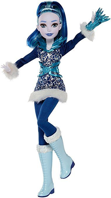 Dc super hero girls frost action doll 12
