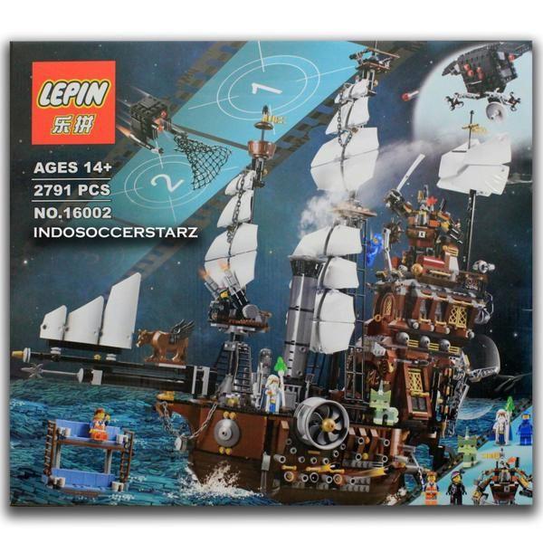 Lego Lepin 16002 Lego Movie Metalbeard S Sea Cow Lego Mainan
