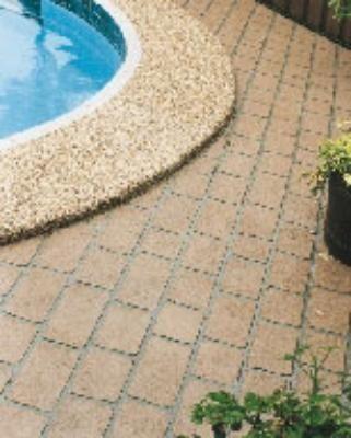 Pavers Concrete Epoxy Resin Wood Decking Options