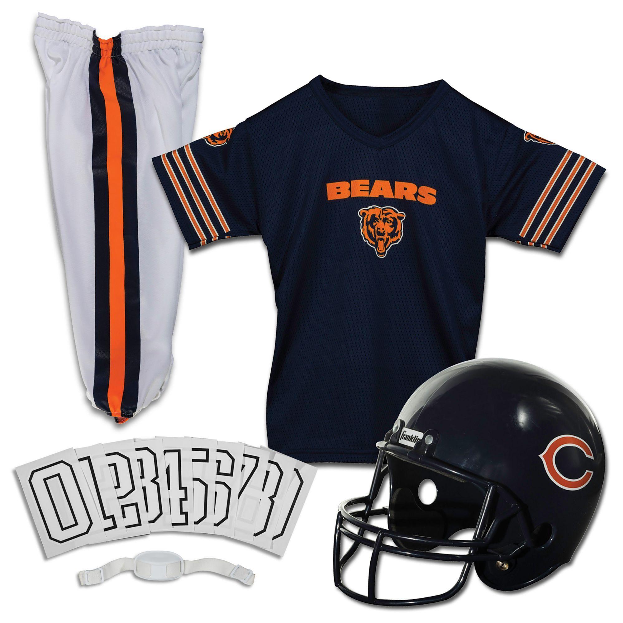 Franklin Chicago Bears Deluxe Uniform Set  73be3de5e