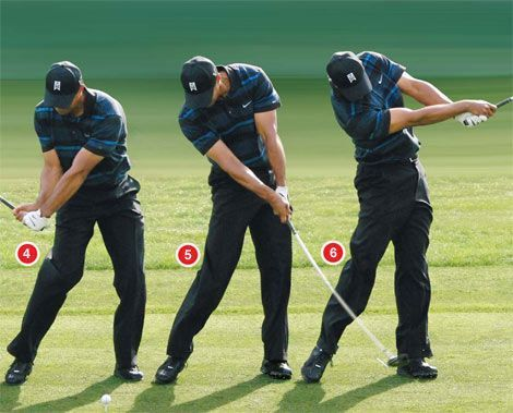 Tiger woods swing sequence | Golf Tips R Us | Pinterest