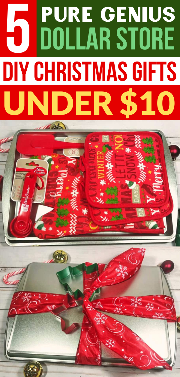 5 Genius Christmas Gifts From The Dollar Store Under $10