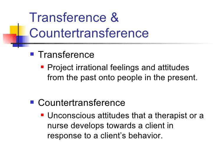 Transference Vs Countertransference Google Search Work Stuff