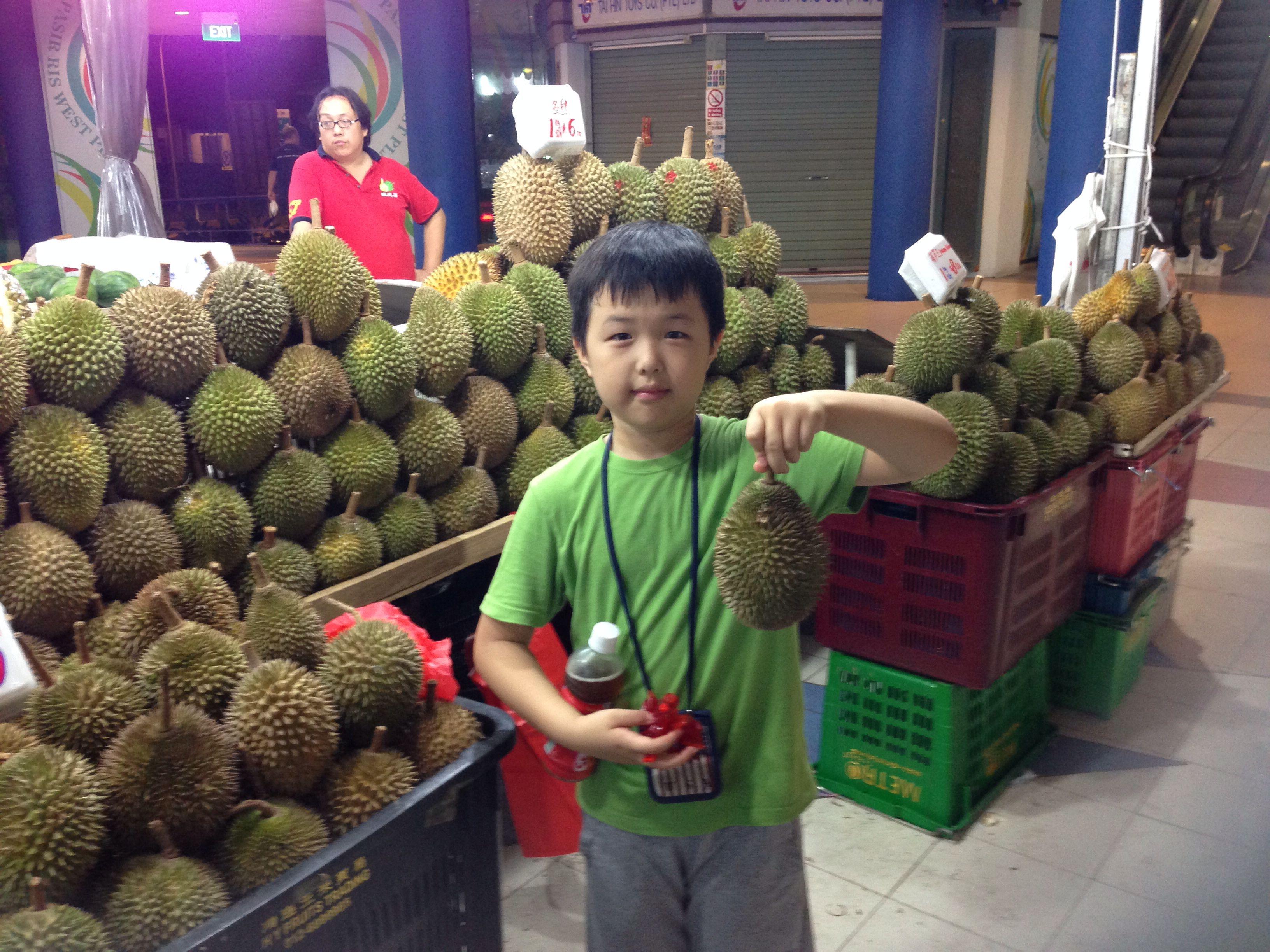 싱가폴 대표 과일 - 두리안