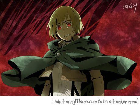 Badass Armin He Looks So Insane Armin Attack On