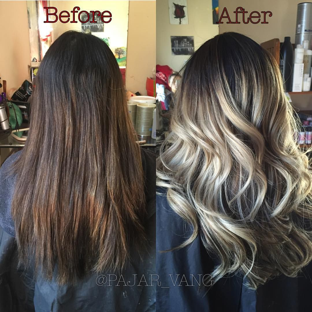 Before And After 5 Hour Color Correction I Did A Partial