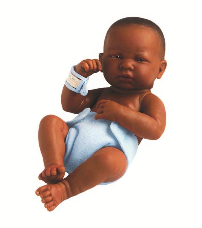 African American Newborn Baby Boy Lifelike Black Doll Realistic ...