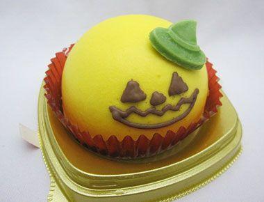 ハロウィン かぼちゃのムースケーキ  セブンイレブン