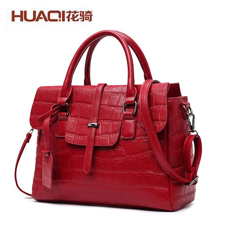Famous Brand Women Bag Alligator Tote Handbags New Fashion Shoulder Bags  Woman Crossbody Bag 2017 Frauen Tasche Luxus Marke 01f42370e74fa