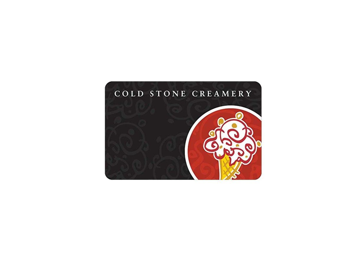 cold stone gift card discount