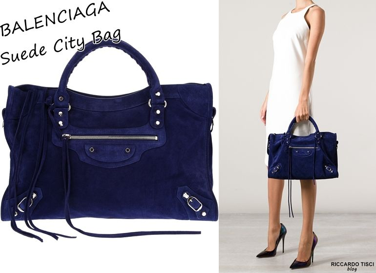 2015 Balenciaga Bags | balenciaga suede leather bag city online ...