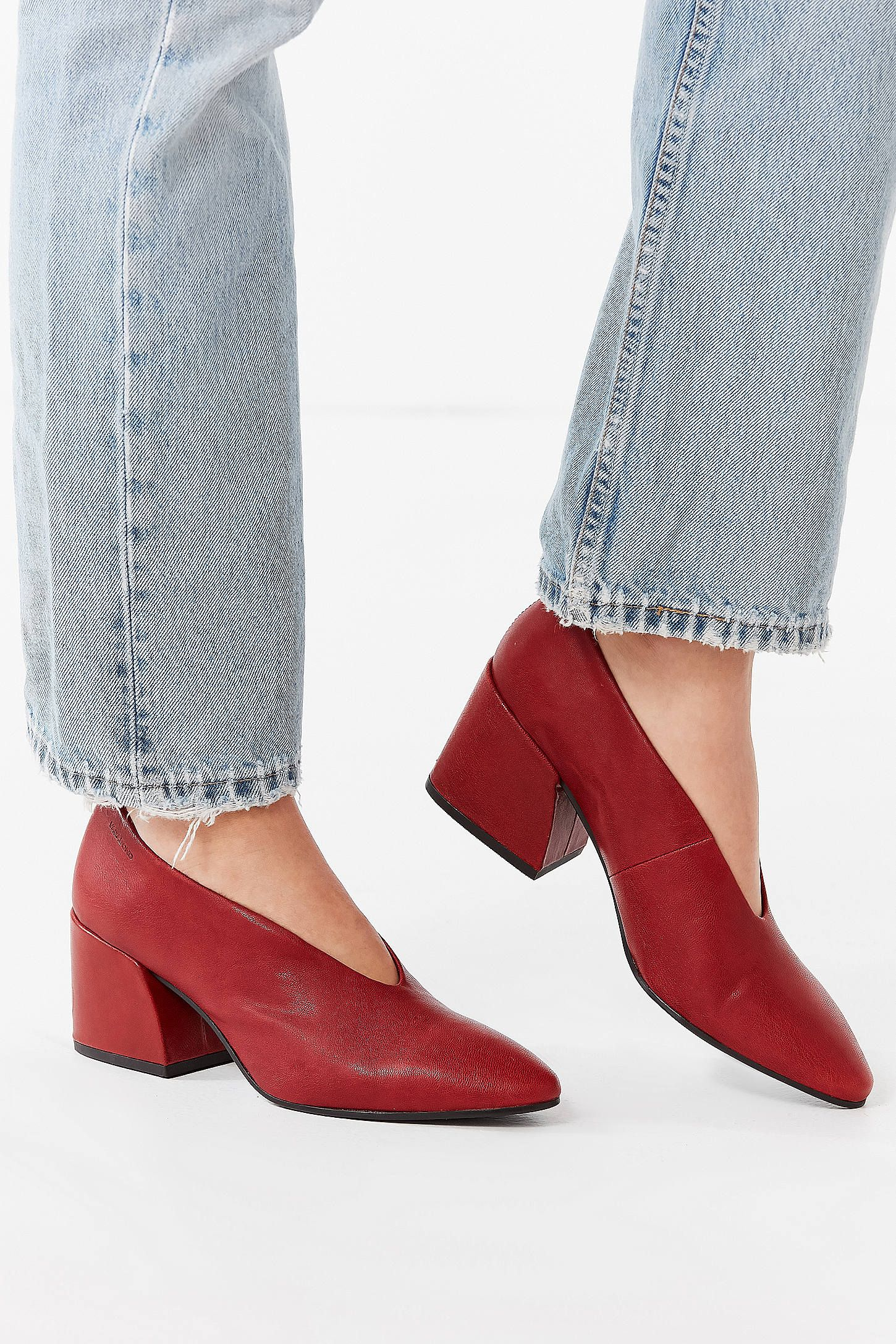 2b33d576af8 Shop Vagabond Olivia Red Leather Heel at Urban Outfitters today. We carry  all the latest styles