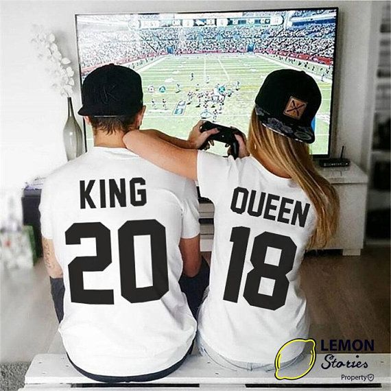d53868b0 Any number, Price for 1 T-shirt, King Queen T-shirt, Matching Shirts, King  and Queen, Family shirts