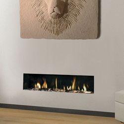 Apex Fires Liberty 10 Frameless Open Fronted Hole In The Wall Gas Fire