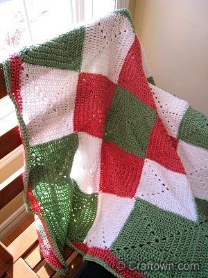 Cuadros afgano-Free Crochet Pattern   croche para todos   Pinterest ...