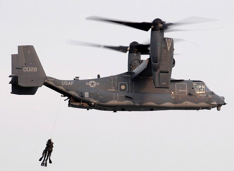 Elicottero Osprey : Bell helicopter cv osprey hoisting us navy seals