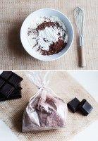 Homemade Chocolate Milk Bath #fallmilkbath
