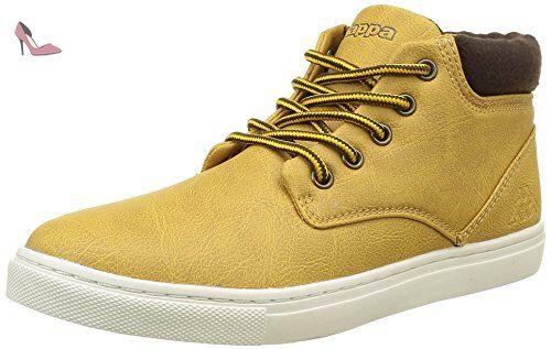 Kappa Cit, Sneaker Basses Garçon, Jaune (F12 Yellow Tan