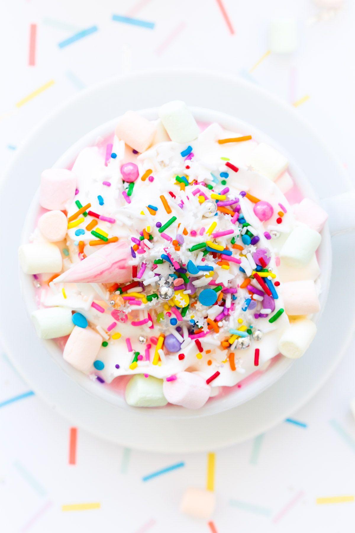 Copycat Unicorn Hot Chocolate Recipe