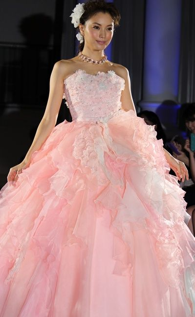 ピンクドレス押切もえ